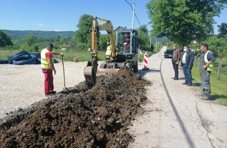 Почели радови на изградњи водовода према Читлуку