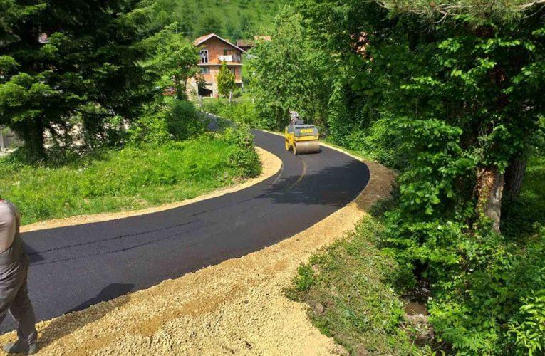 Асфалтирани локални путеви на подручју општине