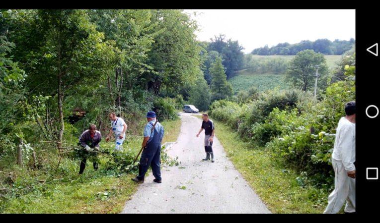 Мјештани села Присоје и Подосоје настављају да помјерају границе (фото)