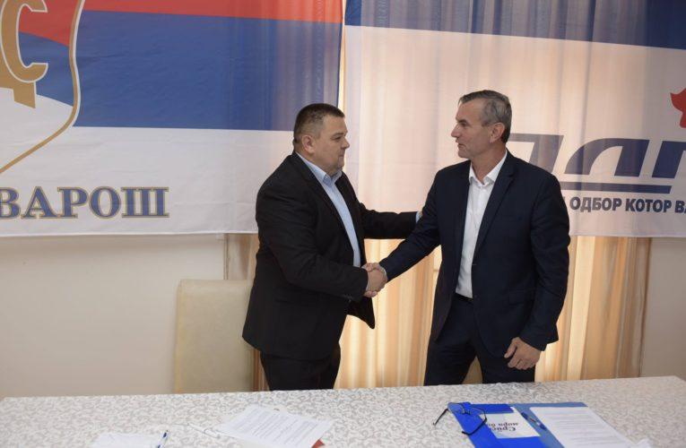 Потписан споразум СДС-ПДП, Сакан заједнички кандидат