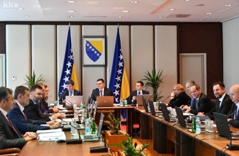 Савјет министара БиХ је потврдио именовање нових кадрова на челне функције СИПА-е и РАK-а