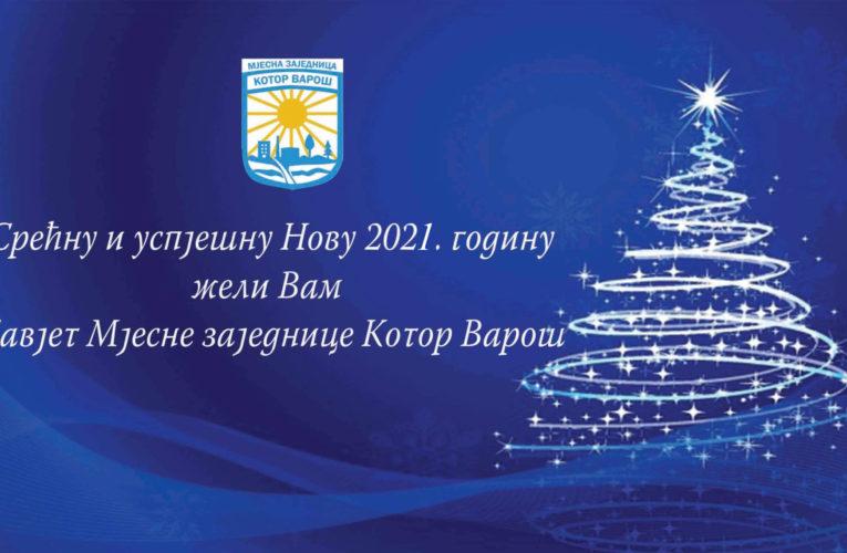 Мјесна заједница Котор Варош честитала Нову годину