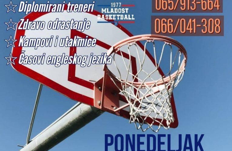 """Фото вијест: Школа кошарке """"Младост"""" врши упис нових чланова"""