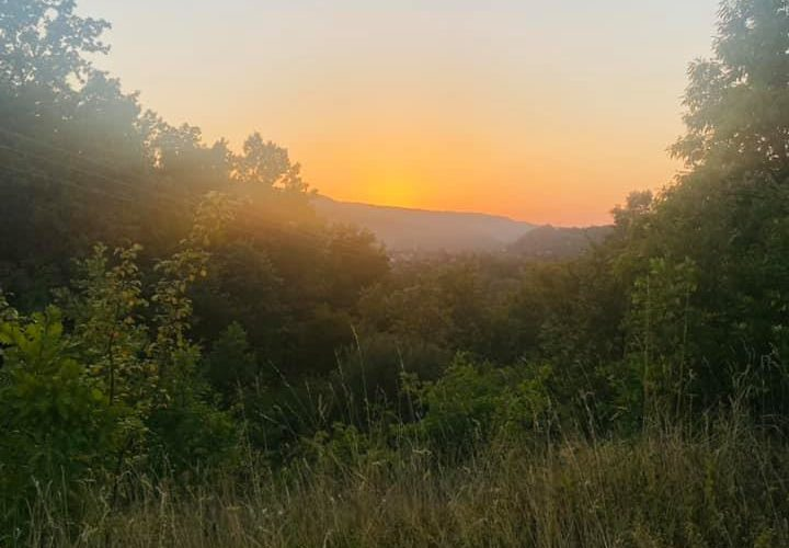 KВ кроз фотографије: Залазак сунца изнад Плана (Н.П.)